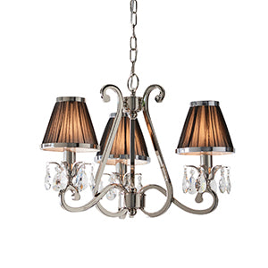 Dark Salmon Interiors 1900 - Oksana nickel 3lt Pendant 63505 interiors-1900-63505-multi-arm-shade-63505