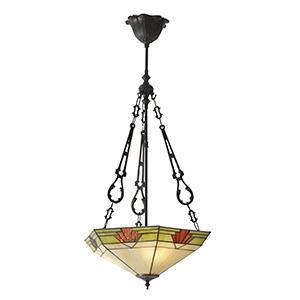 White Smoke Interiors 1900 - Nevada 3lt Pendant 70739 interiors-1900-70739-single-70739