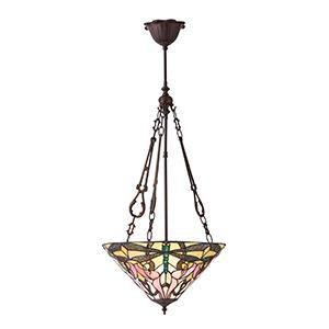 White Smoke Interiors 1900 - Ashton 3lt Pendant 70740 interiors-1900-70740-single-70740