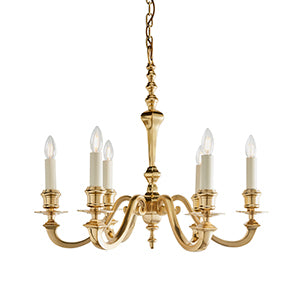 Tan Interiors 1900 - Fenbridge 6lt Pendant 72980 interiors-1900-72980-multi-arm-lamp-72980