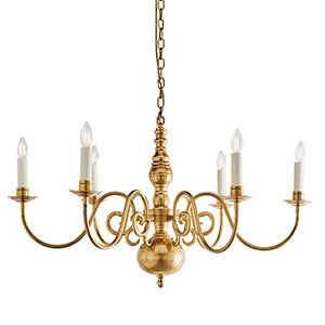 Seashell Interiors 1900 - Chamberlain 6lt Pendant 72985 interiors-1900-72985-multi-arm-lamp-72985