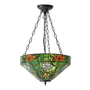 Olive Drab Interiors 1900 - Agapantha 3lt Pendant 74438 interiors-1900-74438-single-74438
