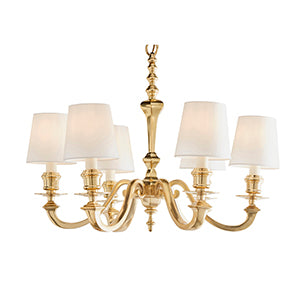 Tan Interiors 1900 - Fenbridge 6lt Pendant 74450 interiors-1900-74450-multi-arm-shade-74450