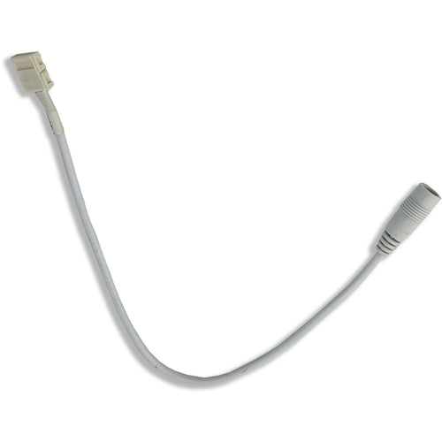 White Techtouch 80115 30CM DC CONNECTOR WIRE (8MM)