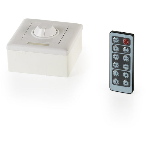 Antique White Techtouch 80322 12 KEY INFRARED DIMMER 1 CHANNEL 96W techtouch-80322-12-key-infrared-dimmer-1-channel-96w