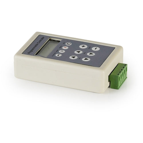 Light Gray Techtouch 80350 PROGRAMMABLE TIMER CONTROLLER 4 CHANNEL 192W