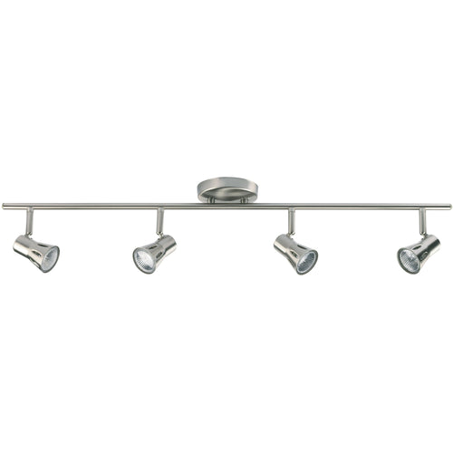 Dim Gray Krius 4lt bar 50W Satin chrome effect plate - 814-SC krius-4lt-bar-50w-satin-chrome-effect-plate-814-sc