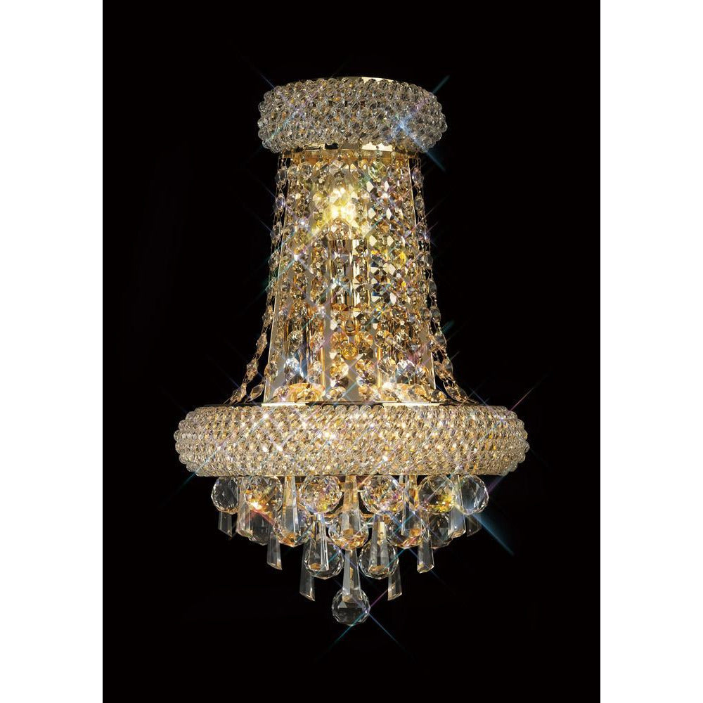 Rosy Brown Diyas IL32102 Alexandra Wall Lamp Large 3 Light French Gold/Crystal diyas-il32102-alexandra-wall-lamp-large-3-light-french-gold-crystal Alexandra