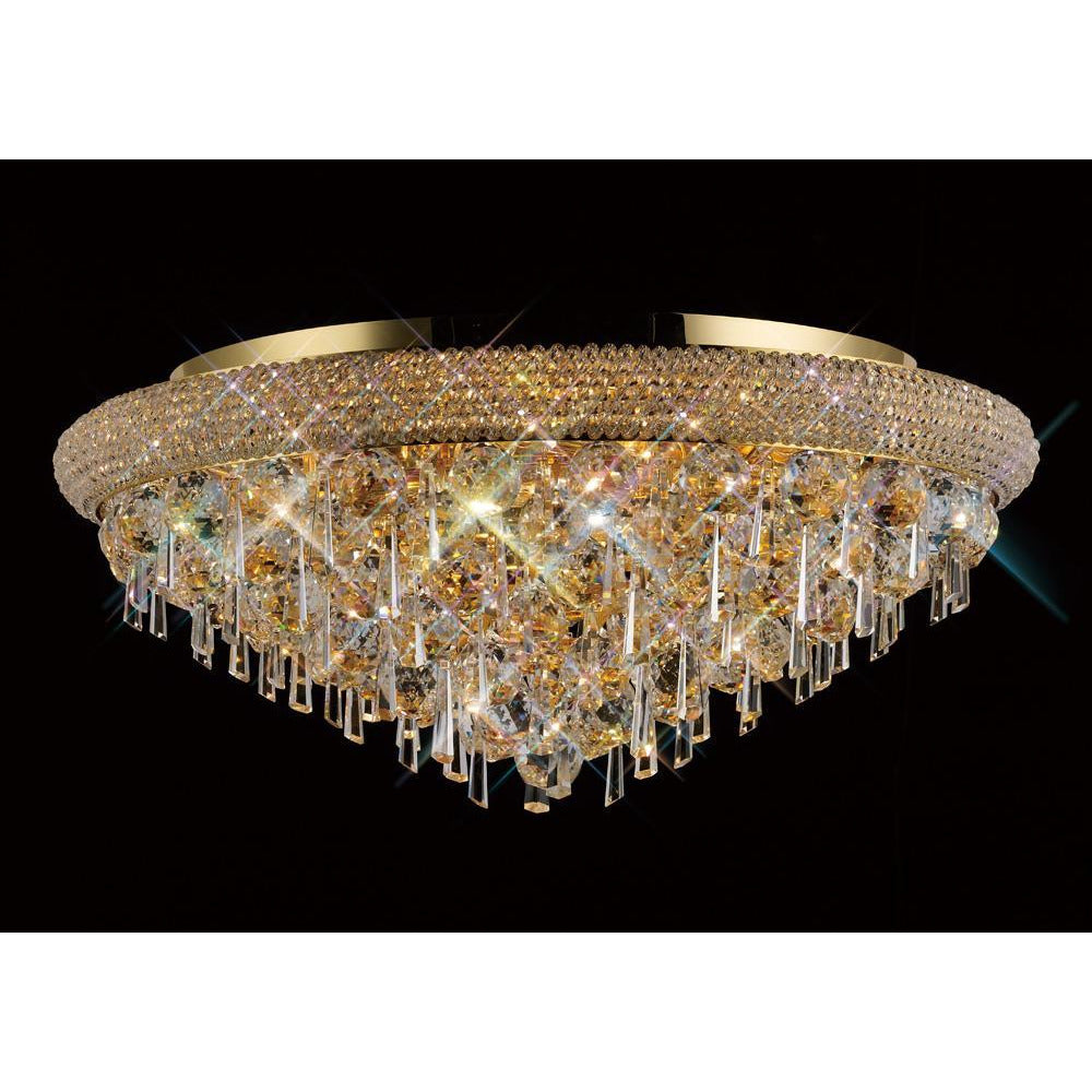 Rosy Brown Diyas IL32107 Alexandra Ceiling 9 Light French Gold/Crystal diyas-il32107-alexandra-ceiling-9-light-french-gold-crystal Alexandra