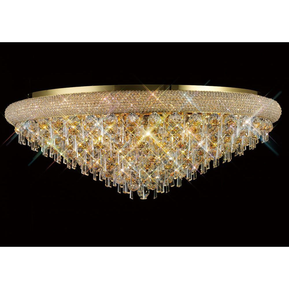 Rosy Brown Diyas IL32109 Alexandra Ceiling 18 Light French Gold/Crystal diyas-il32109-alexandra-ceiling-18-light-french-gold-crystal Alexandra