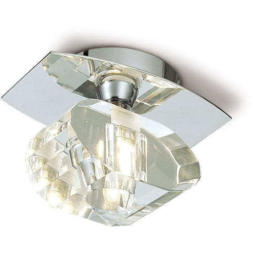 Gray Mantra M0422 Alfa Ceiling 1 Light G9, Polished Chrome