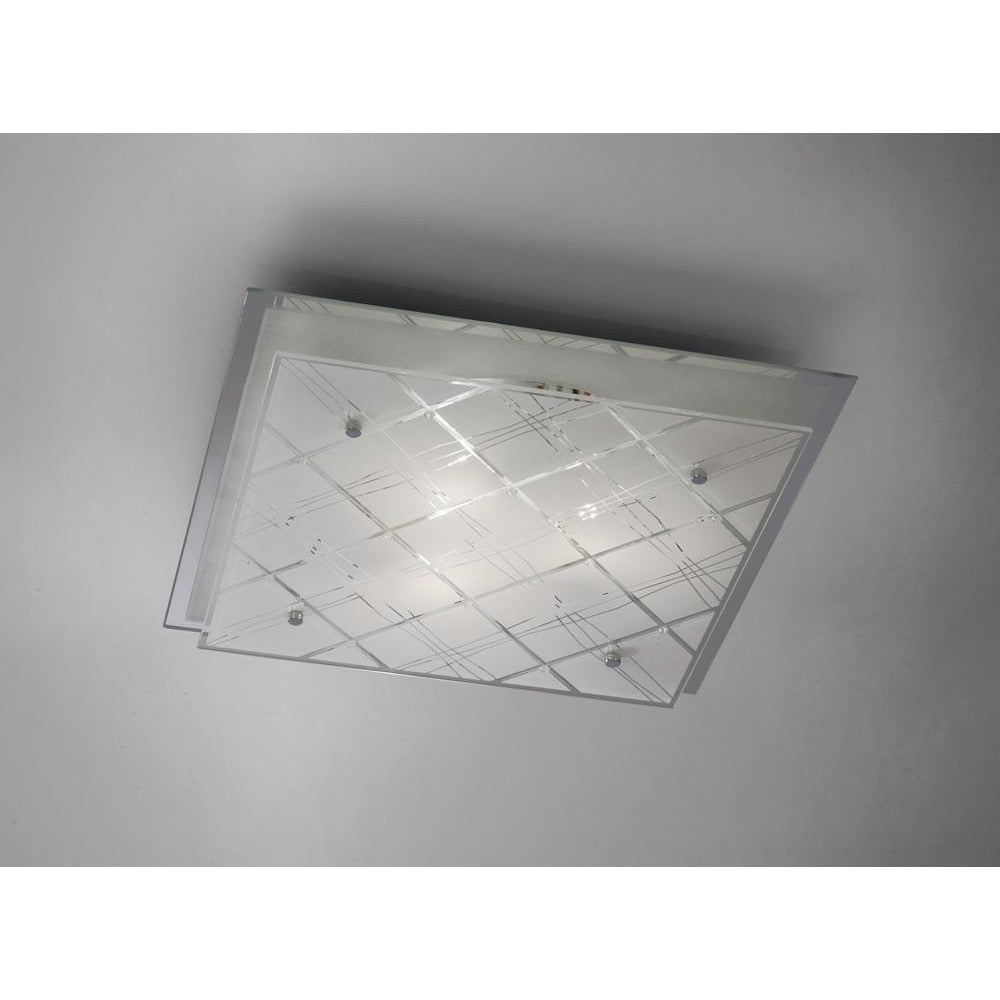 Gray Diyas IL31283 Aries Ceiling Square 3 Light Large Polished Chrome/Glass diyas-il31283-aries-ceiling-square-3-light-large-polished-chrome-glass Aries