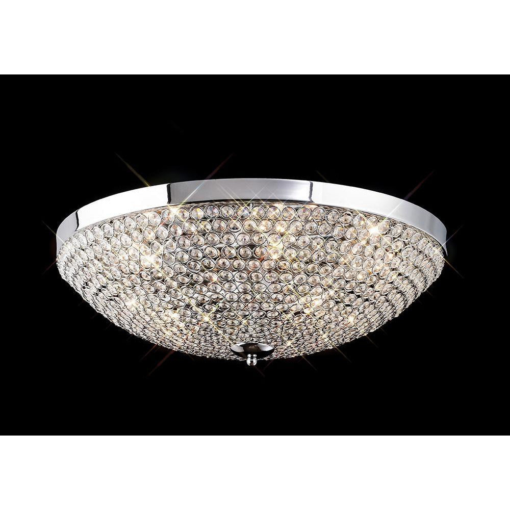 Rosy Brown Diyas IL30188 Ava Ceiling 6 Light Polished Chrome/Crystal diyas-il30188-ava-ceiling-6-light-polished-chrome-crystal Ava