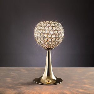 Dim Gray Diyas IL30755 Ava Table Lamp 2 Light French Gold/Crystal diyas-il30755-ava-table-lamp-2-light-french-gold-crystal Ava