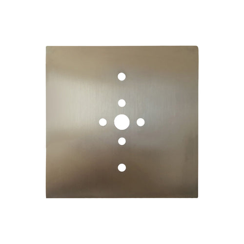 Dim Gray Mantra M5171 Bahia Flush Mount Plate Kit For M5233 / M5235 Bronze mantra-m5171-bahia-flush-mount-plate-kit-for-m5233-m5235-bronze