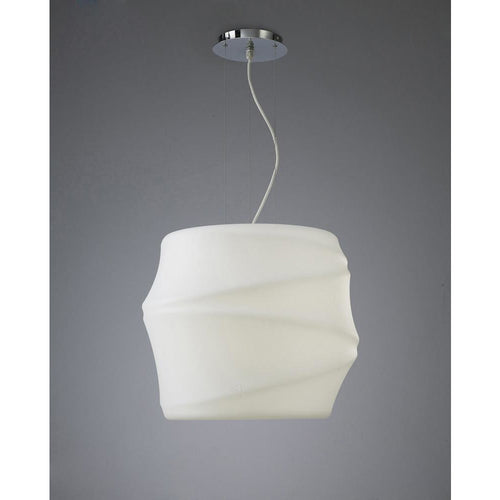 Light Gray Mantra M3640 Bambu Pendant 1 Light E27 Outdoor IP44, Opal White mantra-m3640-bambu-pendant-1-light-e27-outdoor-ip44-opal-white