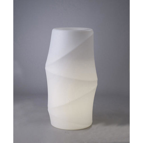 Gray Mantra M3647 Bambu Tall Pot No Light Outdoor, Opal White mantra-m3647-bambu-tall-pot-no-light-outdoor-opal-white