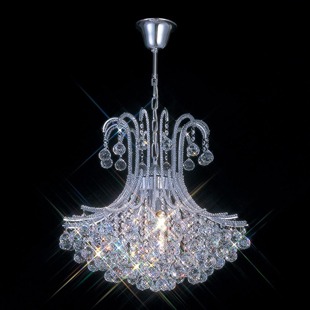 Dark Gray Diyas IL30017 Bask Pendant Round 6 Light Polished Chrome/Crystal diyas-il30017-bask-pendant-round-6-light-polished-chrome-crystal Bask