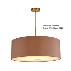 Sienna Deco D0334 Baymont Antique Brass 1 Light E27 Universal 3m Single Pendant, Suitable For A Vast Selection Of Shades deco-d0334-baymont-antique-brass-1-light-e27-universal-3m-single-pendant-suitable-for-a-vast-selection-of-shades