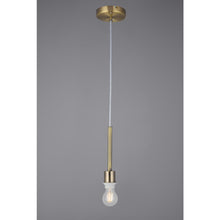 Cargar imagen en el visor de la galería, Light Slate Gray Deco D0334 Baymont Antique Brass 1 Light E27 Universal 3m Single Pendant, Suitable For A Vast Selection Of Shades deco-d0334-baymont-antique-brass-1-light-e27-universal-3m-single-pendant-suitable-for-a-vast-selection-of-shades