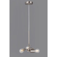 Load image into Gallery viewer, Light Slate Gray Deco D0341 Baymont Satin Nickel 3m 3 Light E27 Universal Single Pendant, Suitable For A Vast Selection Of Shades deco-d0341-baymont-satin-nickel-3m-3-light-e27-universal-single-pendant-suitable-for-a-vast-selection-of-shades