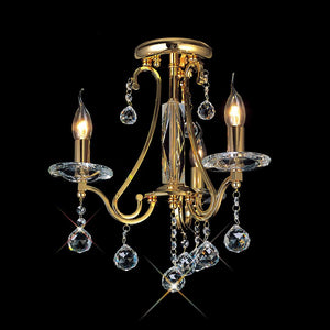 Dim Gray Diyas IL30213 Bianco Ceiling 3 Light French Gold/Crystal diyas-il30213-bianco-ceiling-3-light-french-gold-crystal Bianco