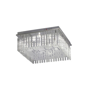 Gray Diyas IL31321 Capella Ceiling 8 Light Polished Chrome/Glass diyas-il31321-capella-ceiling-8-light-polished-chrome-glass Capella