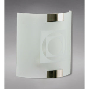 Gray Diyas IL20510D  Caprice Wall Lamp 1 Light - Pattern Design