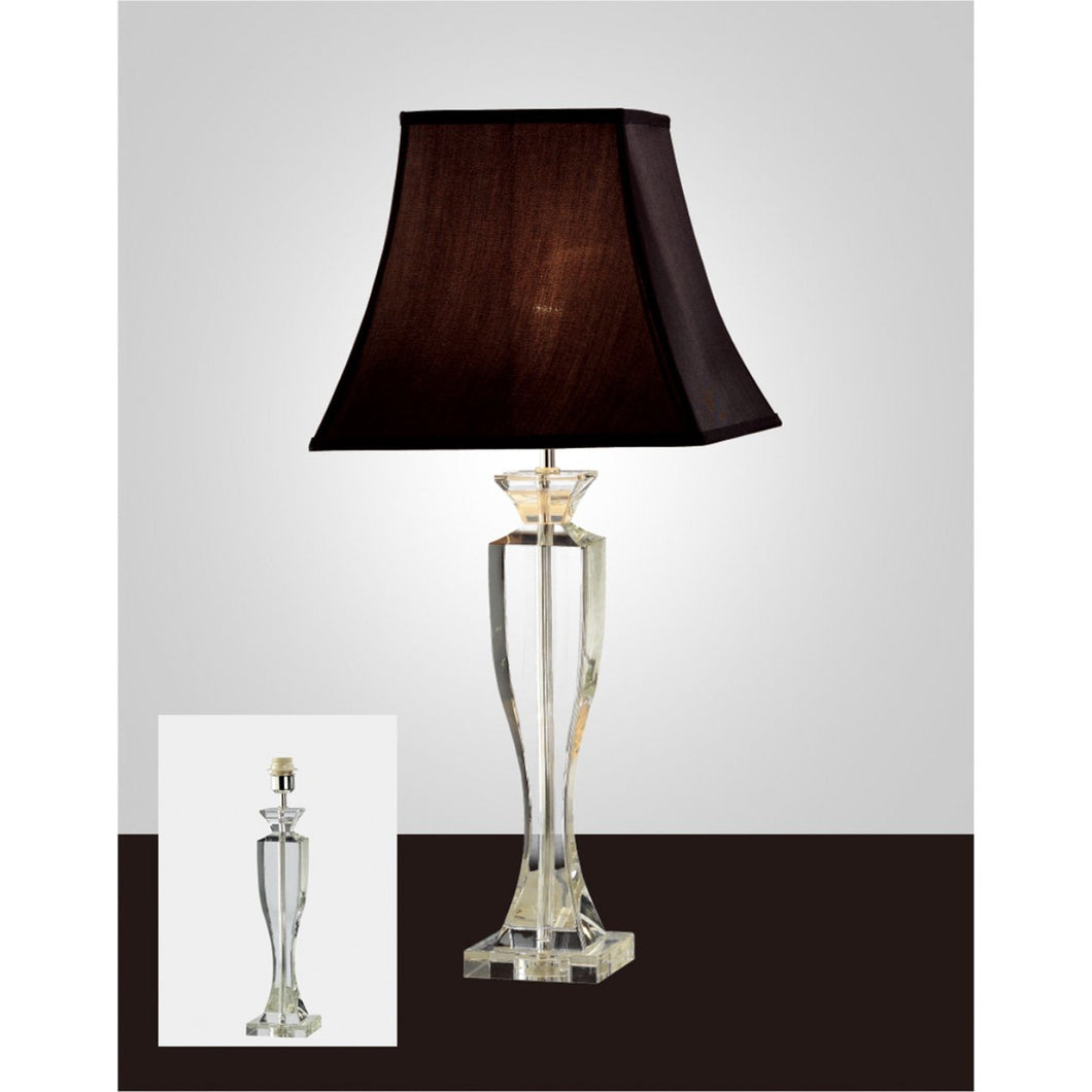 Lavender Diyas IL11027 Carmela Crystal Table Lamp Without Shade 1 Light Silver Finish diyas-il11027-carmela-crystal-table-lamp-without-shade-1-light-silver-finish Carmela