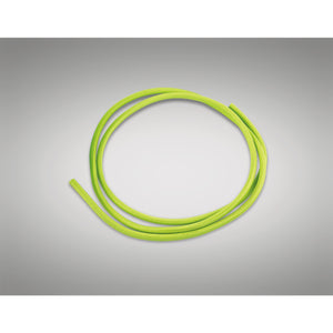 Yellow Green Deco D0197 Cavo 1m Green Braided 2 Core 0.75mm Cable VDE Approved
