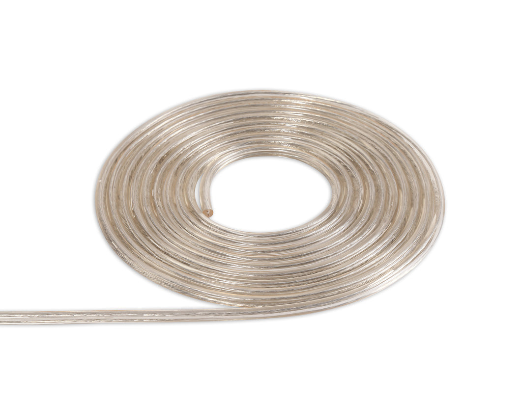 Rosy Brown Deco D0203 Cavo 1m Clear 2 Core 0.75mm Cable VDE Approved deco-d0203-cavo-1m-clear-2-core-0-75mm-cable-vde-approved