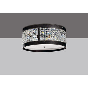 Gray Diyas IL31041 Celsa Ceiling 4 Light Polished Chrome/Dark Brown Faux Leather/Crystal diyas-il31041-celsa-ceiling-4-light-polished-chrome-dark-brown-faux-leather-crystal Celsa