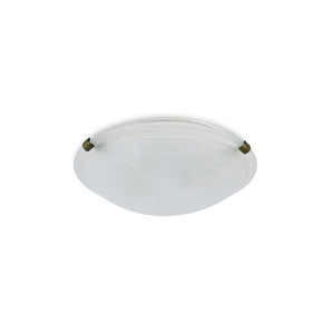 Light Gray Deco D0392 Chester 2 Light E27 Flush Ceiling 300mm Round, Polished Brass With Frosted Alabaster Glass deco-d0392-chester-2-light-e27-flush-ceiling-300mm-round-polished-brass-with-frosted-alabaster-glass