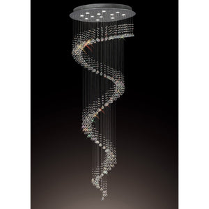 Black Diyas IL31373 Colorado Pendant Multi-Spiral 12 Light Polished Chrome/Crystal diyas-il31373-colorado-pendant-multi-spiral-12-light-polished-chrome-crystal Colorado