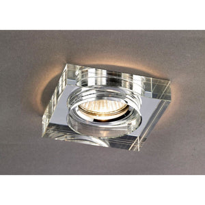 Dim Gray Diyas IL30822CH Crystal Downlight Deep Square Rim Only Clear, IL30800 Required To Complete The Item