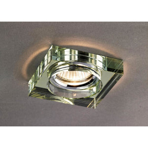 Rosy Brown Diyas IL30822WI Crystal Downlight Deep Square Rim Only White Wine, IL30800 Required To Complete The Item