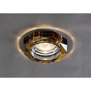 Dark Olive Green Diyas IL30823BZ Crystal Downlight Deep Hexagonal Rim Only Bronze, IL30800 Required To Complete The Item diyas-il30823bz-crystal-downlight-deep-hexagonal-rim-only-bronze-il30800-required-to-complete-the-item Crystal Downlights