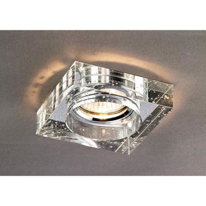Dim Gray Diyas IL30832CH Crystal Bubble Downlight Square Rim Only Clear, IL30800 Required To Complete The Item diyas-il30832ch-crystal-bubble-downlight-square-rim-only-clear-il30800-required-to-complete-the-item Crystal Downlights