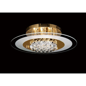 Dark Khaki Diyas IL32022 Delmar Flush Round 6 Light French Gold/Glass/Crystal diyas-il32022-delmar-flush-round-6-light-french-gold-glass-crystal Delmar