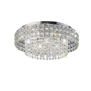 Gray Diyas IL31151 Edison Ceiling Round 7 Light Polished Chrome/Crystal diyas-il31151-edison-ceiling-round-7-light-polished-chrome-crystal Edison