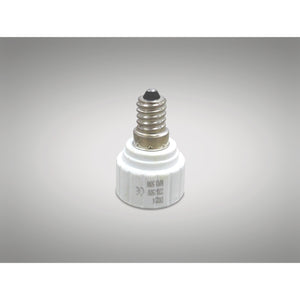 Light Gray Deco D0224 Deco Elements E14 to GU10 Lamp Socket Converter Maximum Wattage 50W