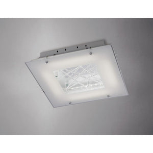 Gray Diyas IL80050 Felix Ceiling 16W LED 3600K Polished Chrome/Crystal diyas-il80050-felix-ceiling-16w-led-3600k-polished-chrome-crystal Felix