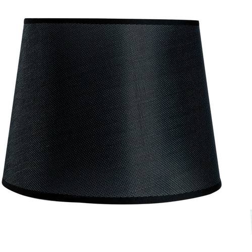 Black Mantra M5238 Habana Black Round Shade 200 x 152mm, Suitable for Wall Lamp