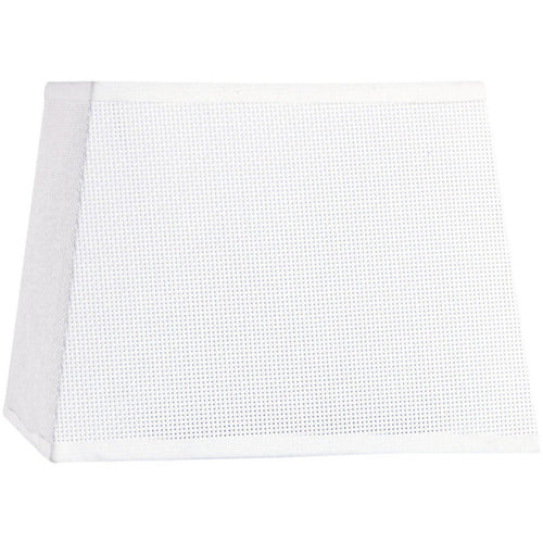 White Smoke Mantra M5239 Habana White Square Shade 160/200 x 152mm, Suitable for Wall Lamp