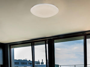 Gray Deco D0074 Helios Ceiling, 500mm Round, 30W 1800lm LED White 4000K deco-d0074-helios-ceiling-500mm-round-30w-1800lm-led-white-4000k