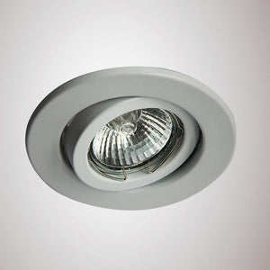 Dark Gray Deco D0035 Hudson GU10 Adjustable Downlight White (Lamp Not Included)