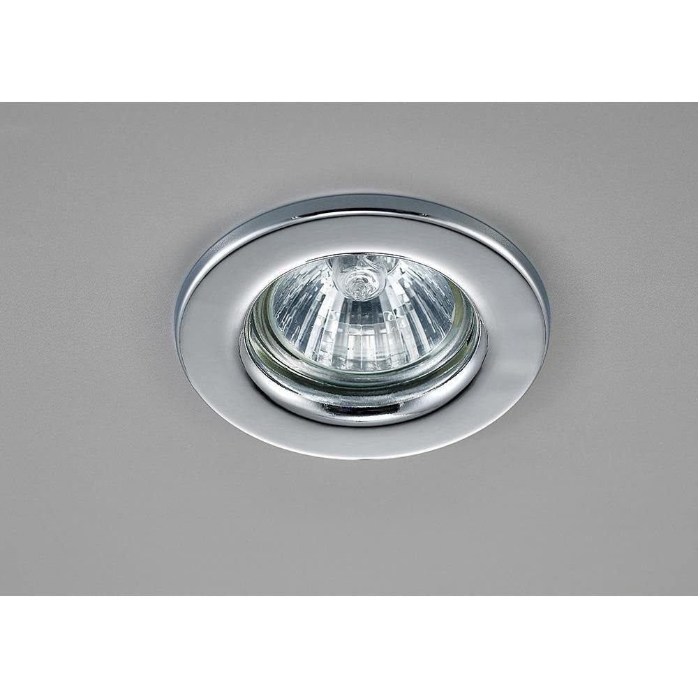 Dark Gray Deco D0036 Hudson GU10 Fixed Downlight Polished Chrome (Lamp Not Included)