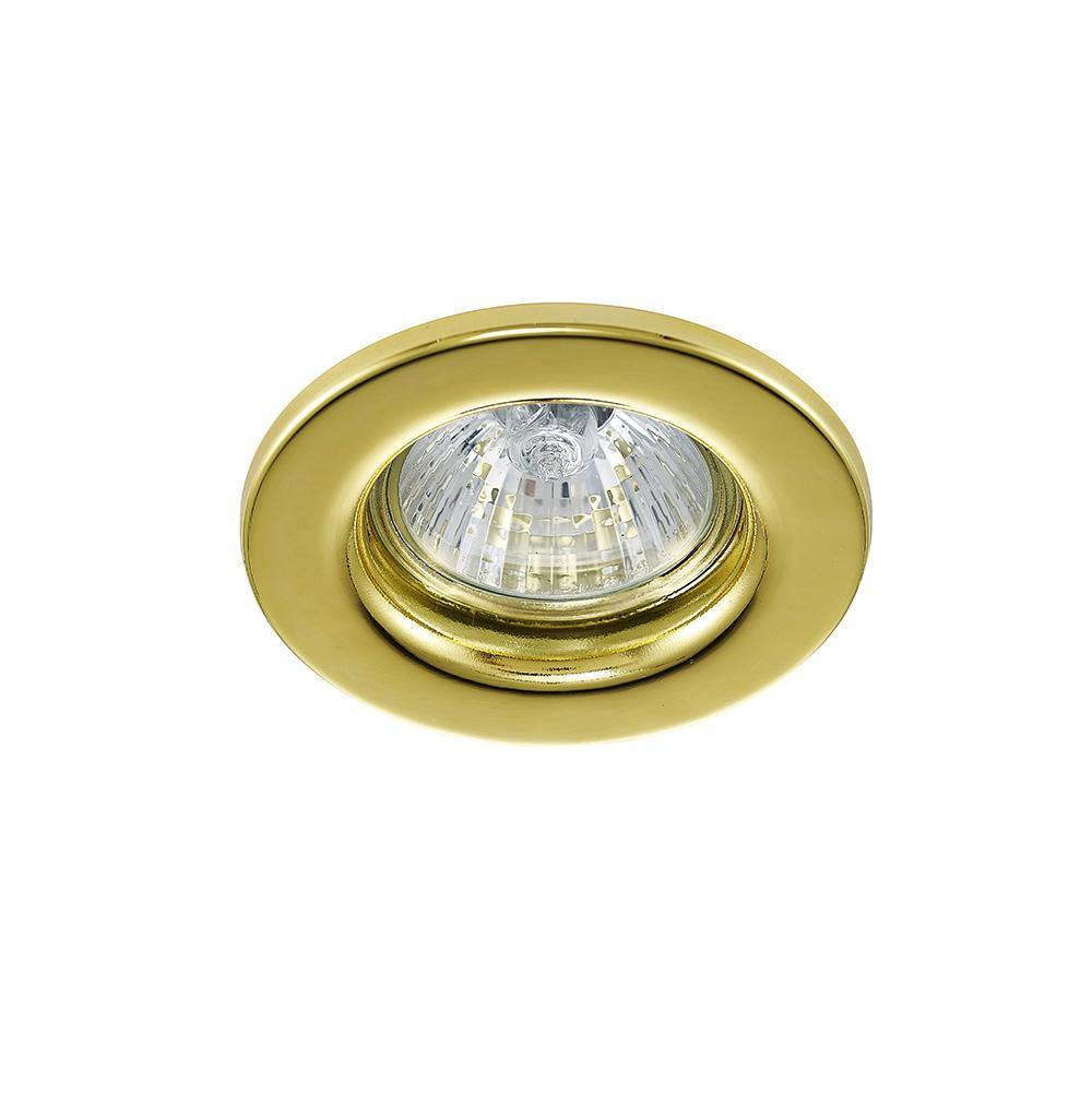 Dark Khaki Deco D0039 Hudson GU10 Fixed Downlight Gold (Lamp Not Included) deco-d0039-hudson-gu10-fixed-downlight-gold-lamp-not-included
