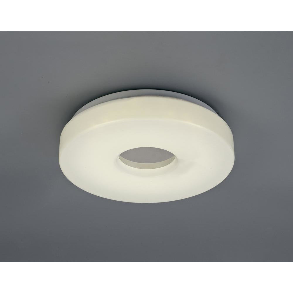 Light Gray Deco D0400 Joop IP44 12W LED Small Flush Ceiling Light, 4000K 1000lm CRI80, Polished Chrome With White Acrylic Diffuser deco-d0400-joop-ip44-12w-led-small-flush-ceiling-light-4000k-1000lm-cri80-polished-chrome-with-white-acrylic-diffuser