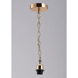 Gray Diyas IL60015 Kudo Electrical Suspension Kit 1 Light French Gold diyas-il60015-kudo-electrical-suspension-kit-1-light-french-gold Kudo